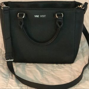 Nine West Crossbody Handbag Black